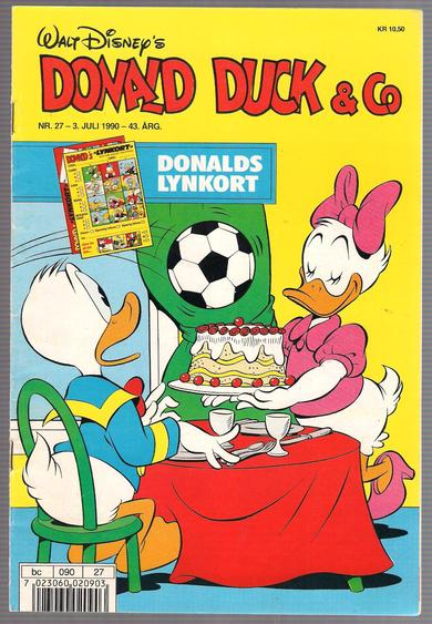 Donald duck & co nr. 27 1990