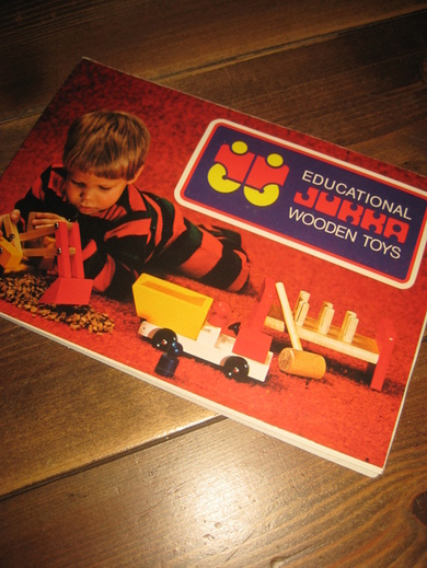 WOODEN TOYS, FINLAND, 1975.