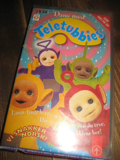 Teletubbies. 60 min, 1997, for alle.