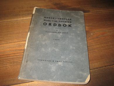 Norsk engelsk teknisk ordbok
