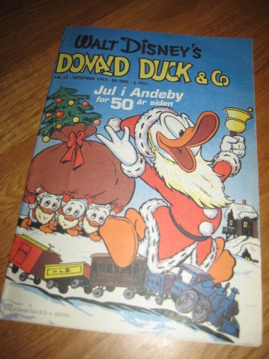 1953,NR 012, DONALD DUCK& CO