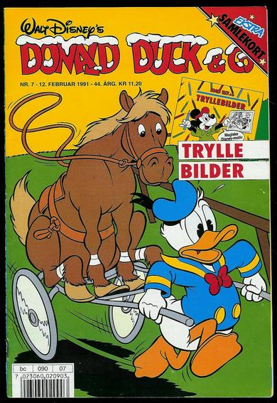 1991,nr 007, DONALD DUCK & Co