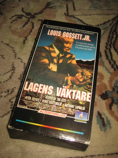 LAGENS VAKTARE. KEEPER OF THE CITY. 95 MIN, 1991.