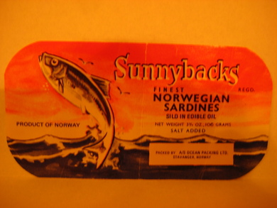 Sunnybacks FINEST NORWEGIAN SARDINES