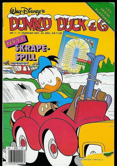 1992,nr 007, DONALD DUCK & CO