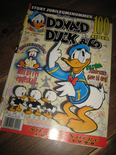 1998,nr 049, DONALD DUCK & CO.