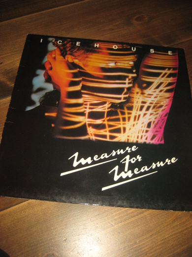 ICEHOUSE: MEASURE FOR MEASURE. 1986.