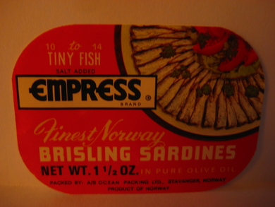 Empress Finest Norway BRISLING SARDINES