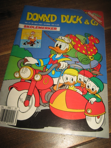 1991,nr 031, DONALD DUCK & CO