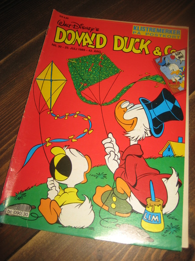 1989,nr 030, DONALD DUCK & CO.