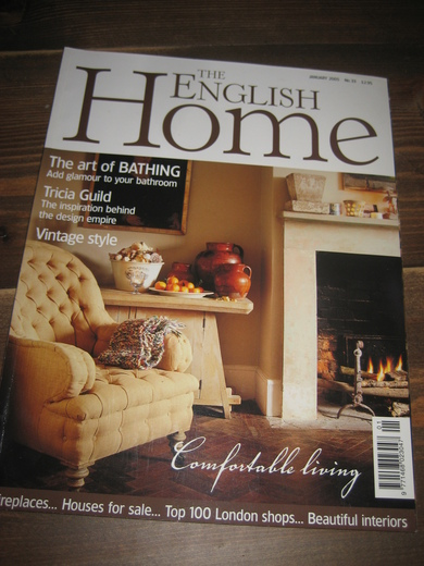 2005,nr 001, THE ENGLISH Home.