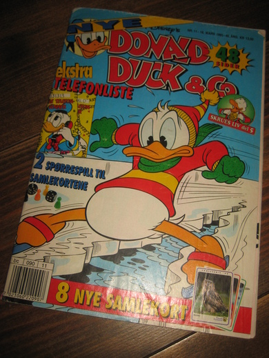 1993,NR 011, DONALD DUCK