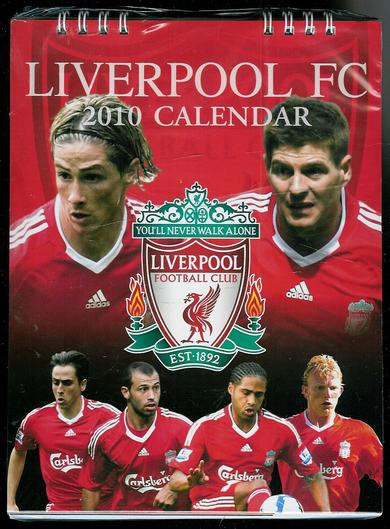 LIVERPOOL FC, kalender for 2010.