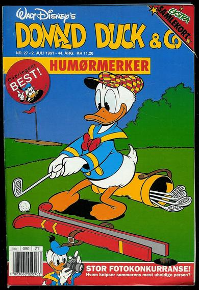 1991,nr 027,                 DONALD DUCK & CO