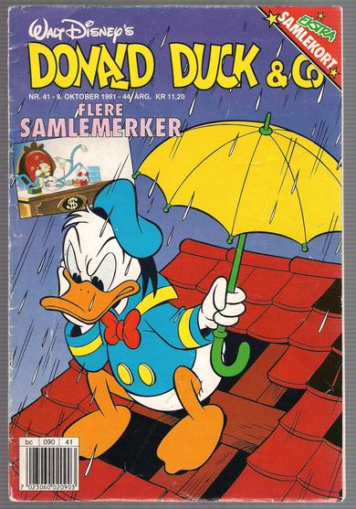 1991,nr 041,                           Donald Duck & Co.