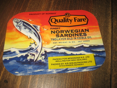 NORWEGIAN SARDINES TWOLAYER SILD IN EDIBLE OIL.