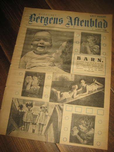 1938, 2. april, MAGASINET Bergens Arbeiderblad.