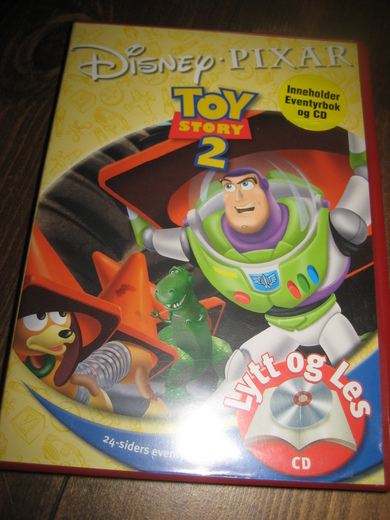 TOY STORY 2. Eventyrbok og CD. 2004.