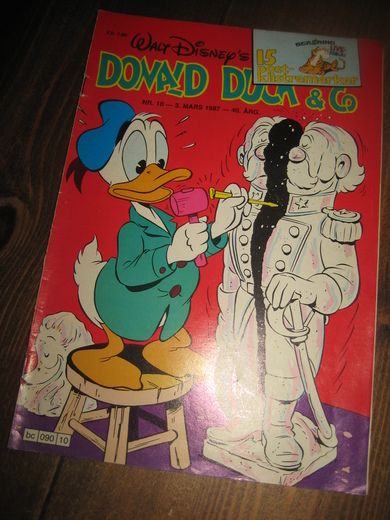 1987,nr 010, DONALD DUCK & CO