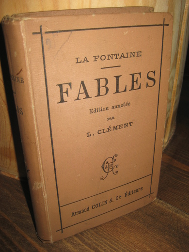 FONTAINE: FABLES. 1896.