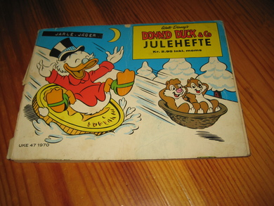 1970, DONALD DUCK & CO JULEHEFTE.