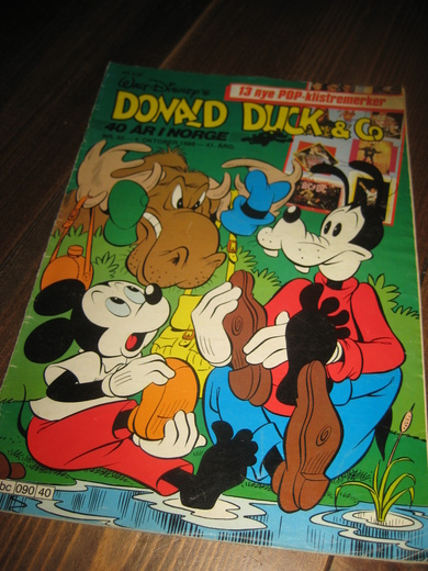1988,nr 040, DONALD DUCK & CO.