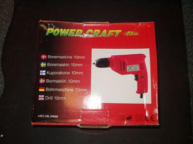 Power Craft boremaskin