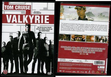 VALKYRIE. TOM CRUISE. 2008