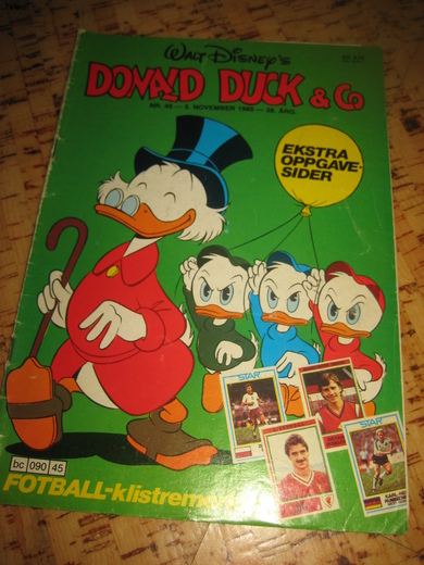 1985,nr 045, DONALD DUCK & Co