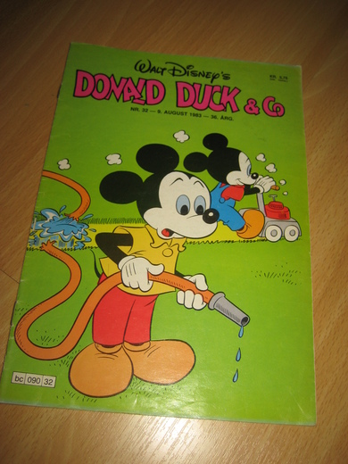 1983,nr 032, DONALD DUCK & CO.