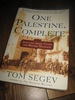 SEGEV, TOM: ONE PALESTINE, COMPLETE. 2001.
