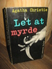 Christie, Agatha: Let at myrde. Bok nr 14.