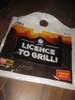 LICENCE TO GRILL. COOP extra.