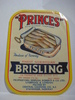 PRINCES BRISLING, fra Central Canning Co, Stavanger.